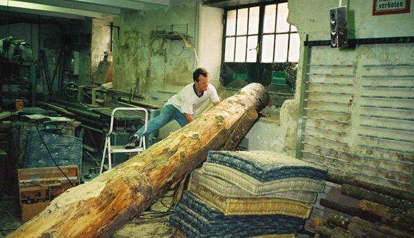 Baumstamm Für Marterpfahl