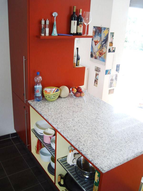 Küche mit individueller Ecklösung