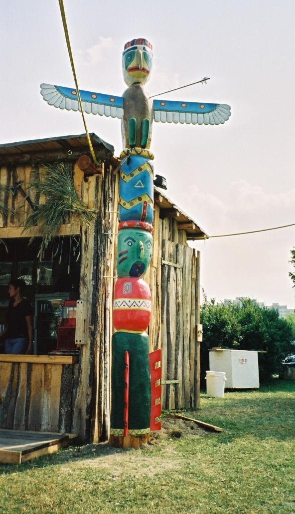 Marterpfahl für Indian Village