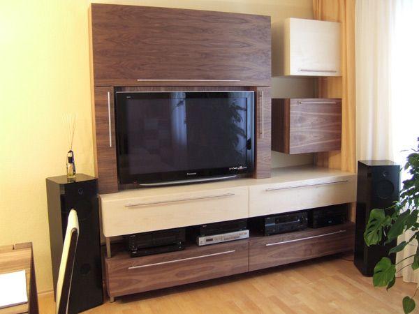 Wohnzimmer Fernseher-Board